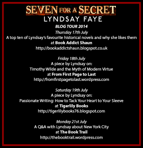 Seven For a Secret Blog Tour Button