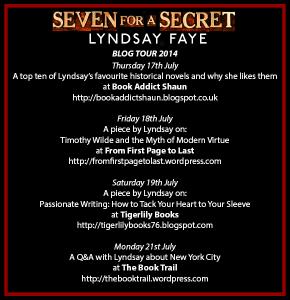 Seven For a Secret Blog Tour Button